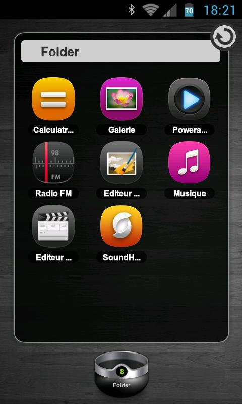 TSF Shell Theme meego HD- screenshot