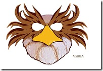 MASCARA AGUILA BLOGCOLOREAR 2 1