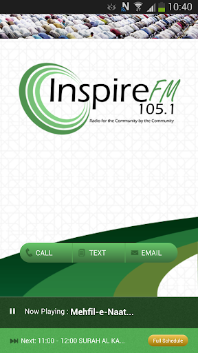 Inspire FM 105.1 Luton