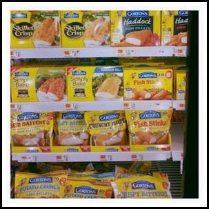 Gorton's Freezer