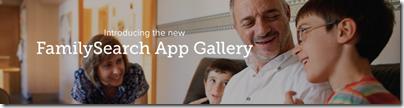 介绍新的FamilySearch App Gallery