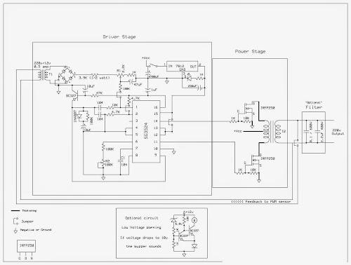 Pure Sinewave Inverter 220v ac | Tech Electronics Portal