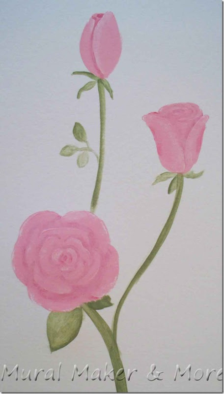 How To Paint Roses 11