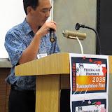 Ken Tatsuguchi, HDOT Planning Branch Manager.