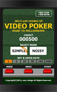 VIDEO POKER - MILLIONAIRE- screenshot thumbnail