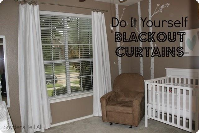 Diy Blackout Curtains Joyfully Prudent