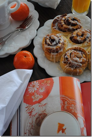 Orange Glazed Cinnamon Rolls Photo | Lisa Porter