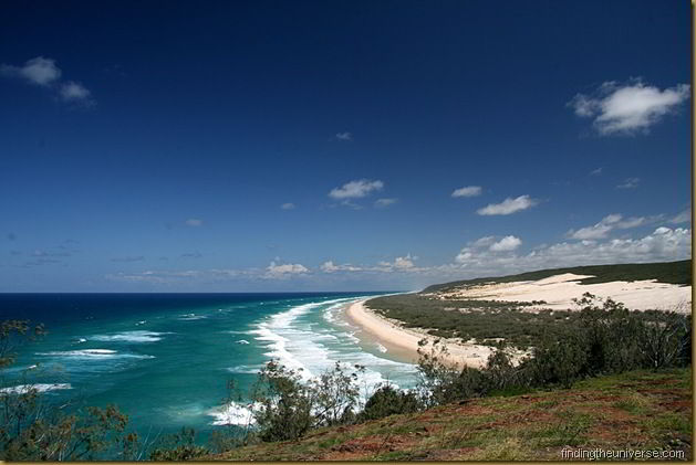 View from Indian Heads, Fraser Island