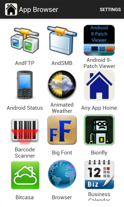 Any App Home Pro- screenshot