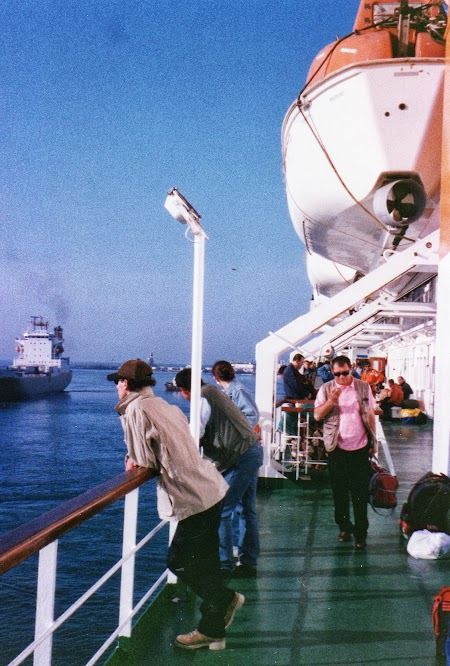 Imagini Albania: Sosirea in portul Durres