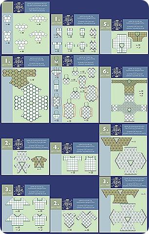 uniendo circulos y cuadrados graficos