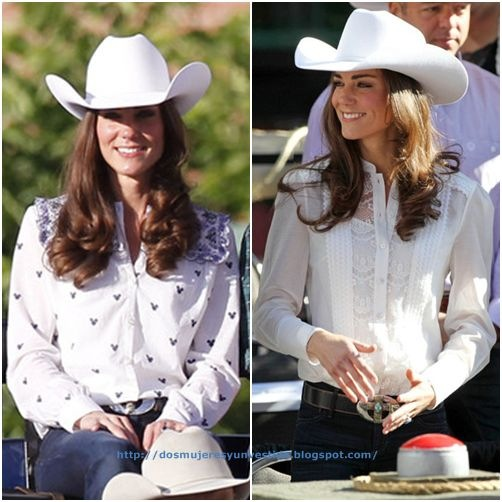 Kate Middleton Attend the Calgary Stampede Parade