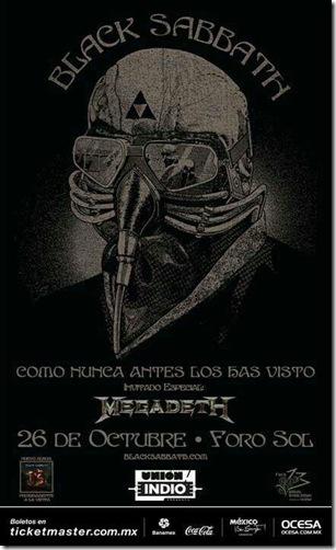 Black Sabbath en Mexico Fechas