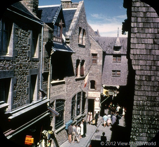 View-Master Mont St. Michel (C197), Scene 11: High Street