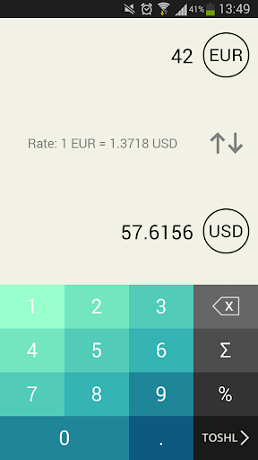 Toshl Currency Converter