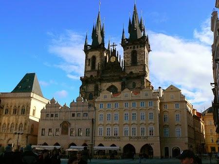 Europa Centrala: Piata Orasului Vechi Praga