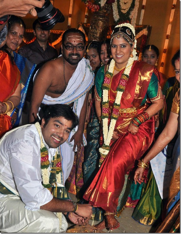 Mirchi Shiva and Priya Wedding Photos
