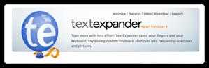 TextExpanderでリストやテーブルを整形する