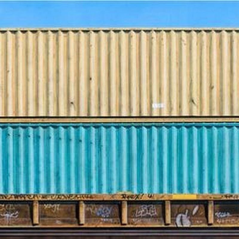 Adam Normandin's Paintings of Freight Trains