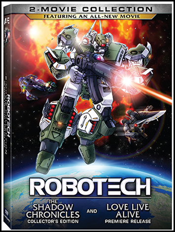 Robotech 2-Movie Collection on DVD