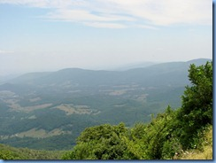 1213 Virginia - Shenandoah National Park - Skyline Drive - Hogback Overlook view