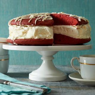 Red Velvet Whoopie Pie Ice Cream Cake.