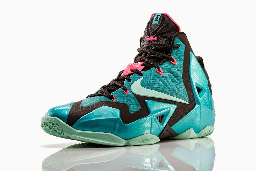 f6ca04f1659 ... NIKE LEBRON 11 South Beach Remixes Past With Present ...