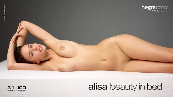[Hegre-Art] Alisa - Beauty In Bed