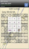 Screenshot of GBR Sudoku