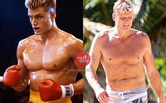 Dolph Lundgren before and after