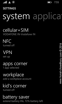 1. Device Settings - Apps Corner