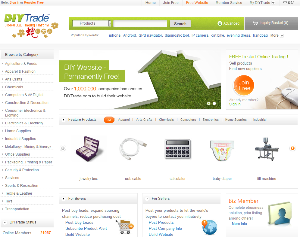quality matters, top most searched words on online commerce, open source trading, green market