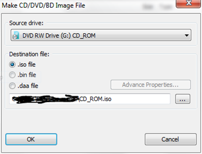 How to make ISO file of your Windows 7 DVD | Amfas Tech