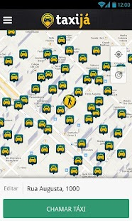 Taxijá brazilian taxi app - screenshot thumbnail