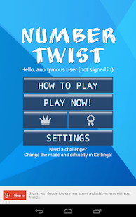 Number Twist - Math game- screenshot thumbnail