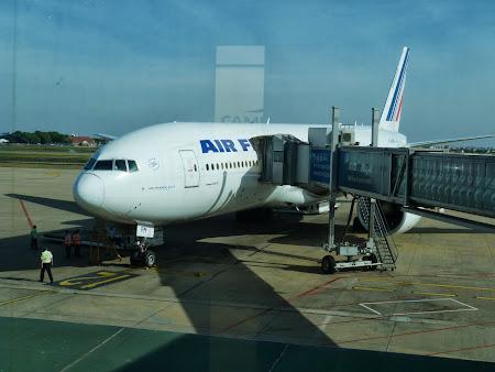 Avion Air France la Bangkok