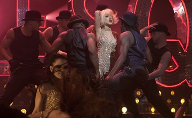 Christina Aguilera stars in Burlesque