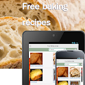 Cake baking recipe icon