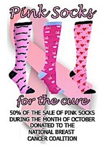 Sock It to Me  for National Breast Cancer Coalition
