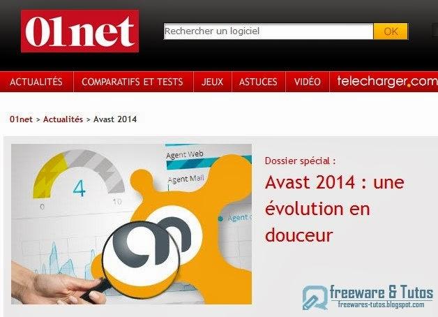 Le site du jour : présentation d'Avast! 2014