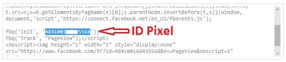 ID Pixel Facebook
