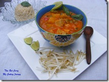 62 - Thai Vegetable and Tofu red Curry