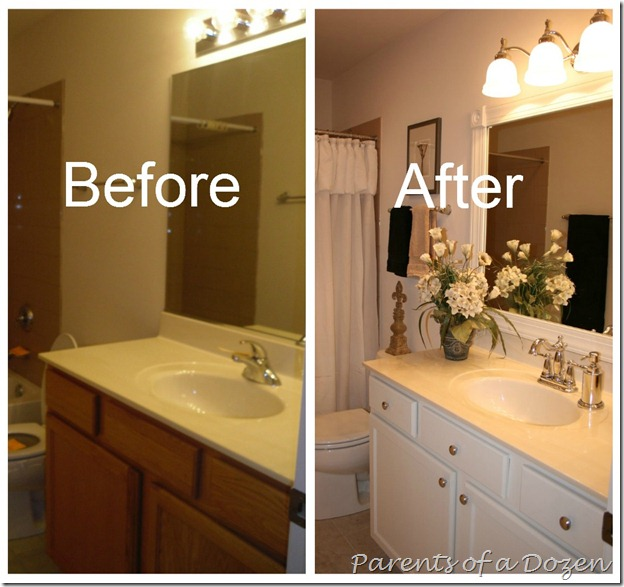What Kind Of Paint Do I Use In A Bathroom: Parents Of A Dozen: How To Paint Cabinets