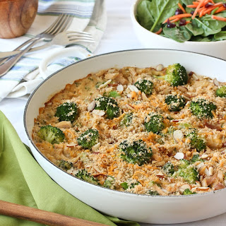 Chicken, Broccoli & Brown Rice Casserole.