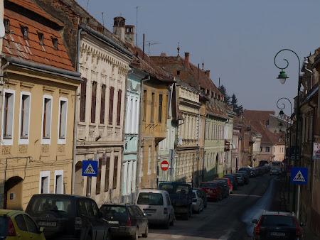 City break Romania: strazile colorate ale orasului vechi
