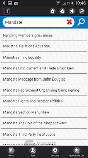 Mandate Trade Union App- screenshot thumbnail