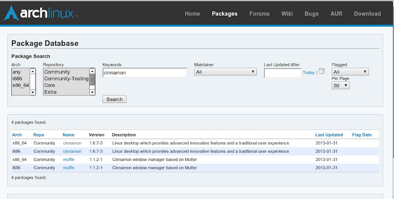 Cinnamon approda nei repository ufficiali Arch Linux - Lffl org