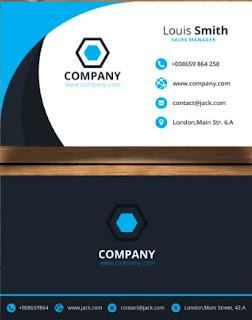 Vector thiết kế name card dành cho illustrator