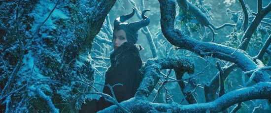 Angelina Jolie as the Evil Maleficent