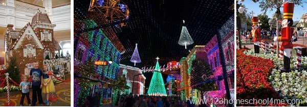 Christmas time is the best time to visit disney world